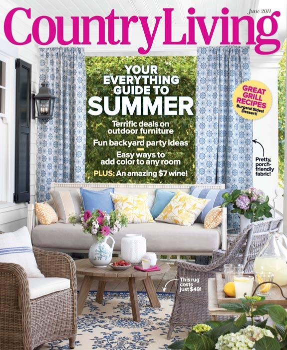 June 2011 Country Living Magazinemy