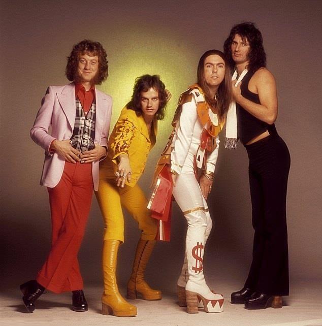 Slade 1974 - Noddy, Jim, Dave & Don