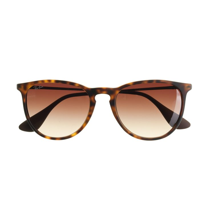 J.Crew Ray-Ban? Erika sunglasses CAD) ? liked on Polyvore featuring accessories, eyewear, sunglasses, glasses, ?3culos, tortoise shell wayfarer, ...