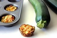 """Zucchini Tots. They were called zucchini bites, but I like """"zucchini tots'' better. They are the healthy version of tater tots. The recipe for these couldn't be any easier."""