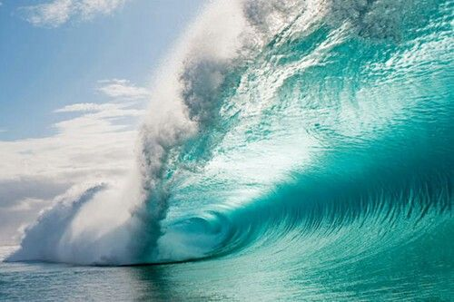 beautiful color background wave - photo #39