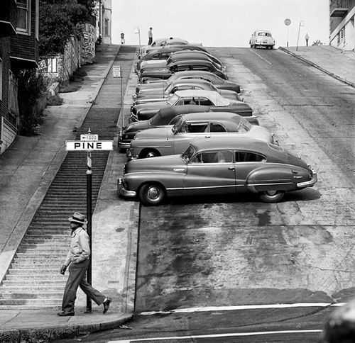 born-in-the1960s:    San Francisco, 1950s Photo by Fred Lyon