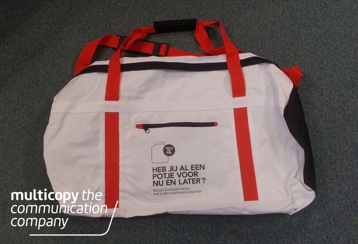 Ook kunnen wij sporttassen bedrukken!
