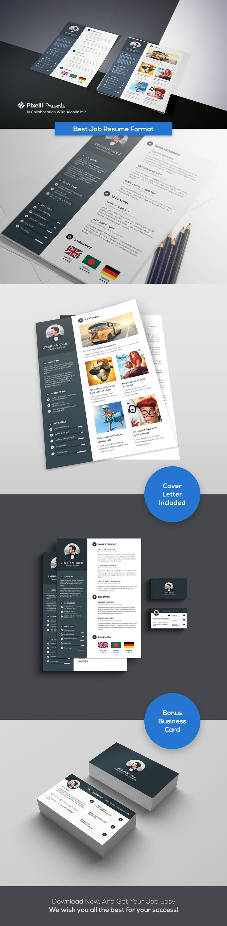 best 25  resume format ideas on pinterest