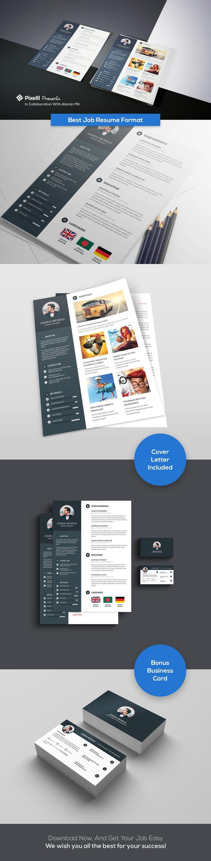 Bottle Service Resume Pdf Best  Resume Format Ideas On Pinterest  Job Cv Job Resume And  Cover Letter Format For Resume Pdf with Resume Adverbs Excel Job Resume Format With Business Card Career Cruising Resume