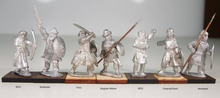 gripping beast and perry miniatures size comparison ...