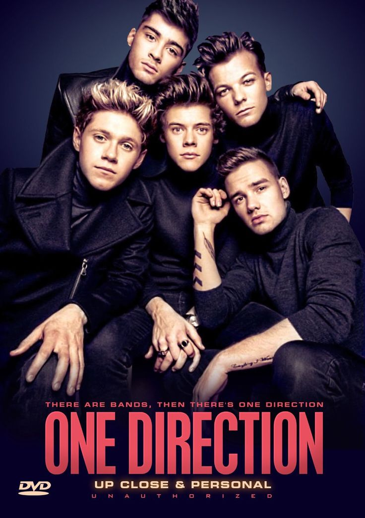 ∞ One Direction [1D] → Up Close & Personal DVD - Release Date 11/5/13