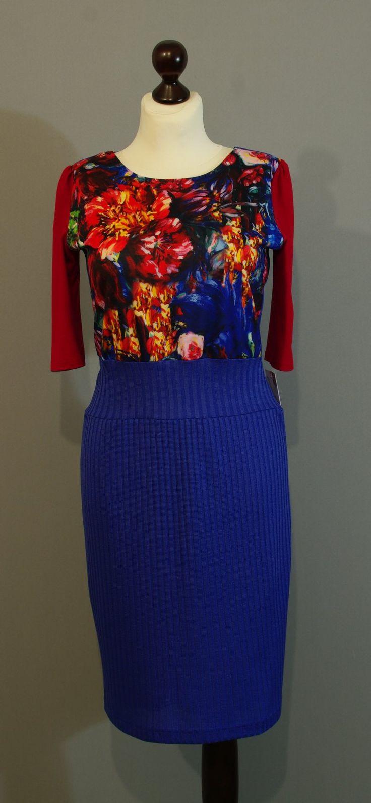 платье цвета индиго, Киев, Украина