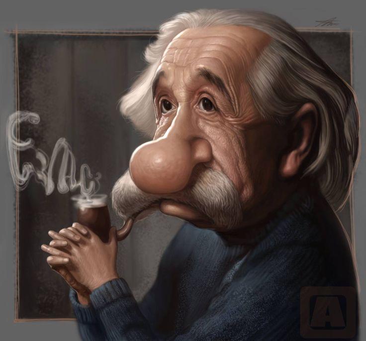 Картинки прикольные эйнштейн, вечер наступил картинки