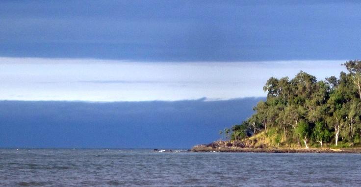 Argentinian flag on Queensland sky #argentina #banderaargentina #queensland #barrierreef #australia