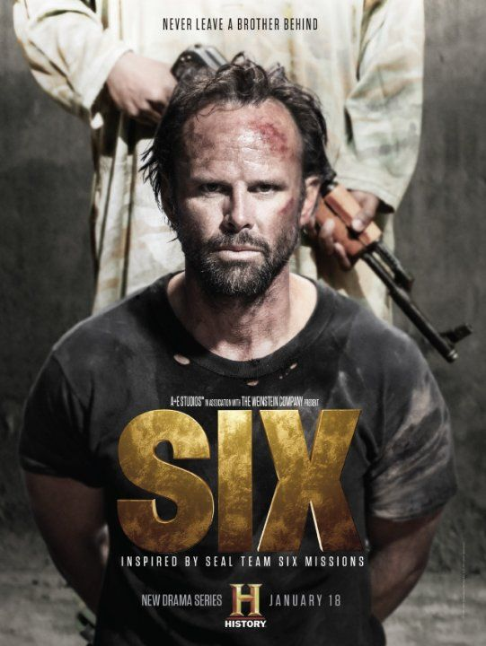 Walton Goggins, Edwin Hodge, Juan Pablo Raba, Kyle Schmid, Jaylen Moore, Barry Sloane, and Dominic Adams in Six (2017)
