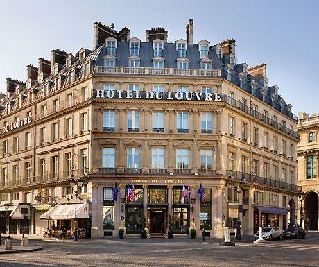 Hotel Du Louvre Luxury Travel Pinterest