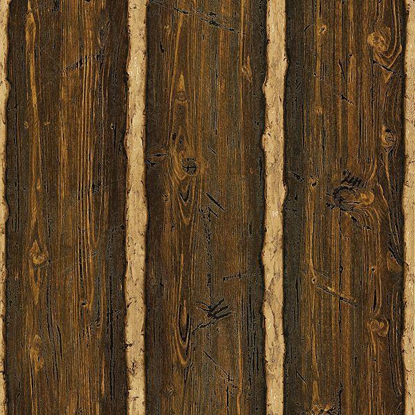 brown rustic pine wood franklin brewster wallpaper