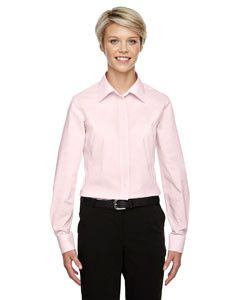 Devon & Jones Ladies' Crown Collection™ Gingham Check D640W PINK