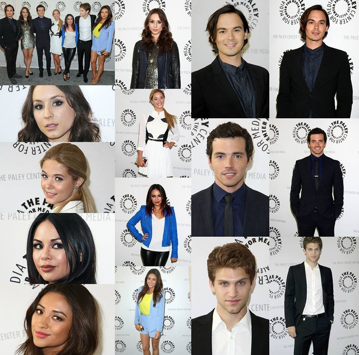 PLL Cast Paley Center!!