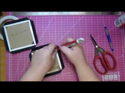 How to: Make a Chipboard box (start to finish) WOC | 2016 - HD