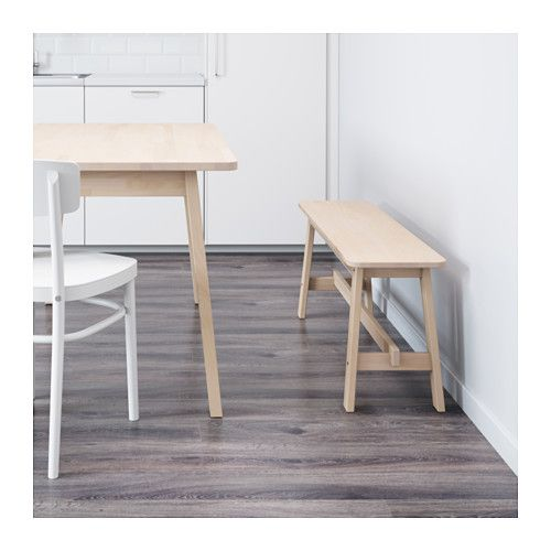 IKEA NORRÅKER bench Durable and hard-wearing; meets the requirements on furniture for public use.