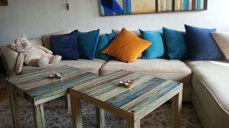 Bord/table-Konst /art. Återvinning trä