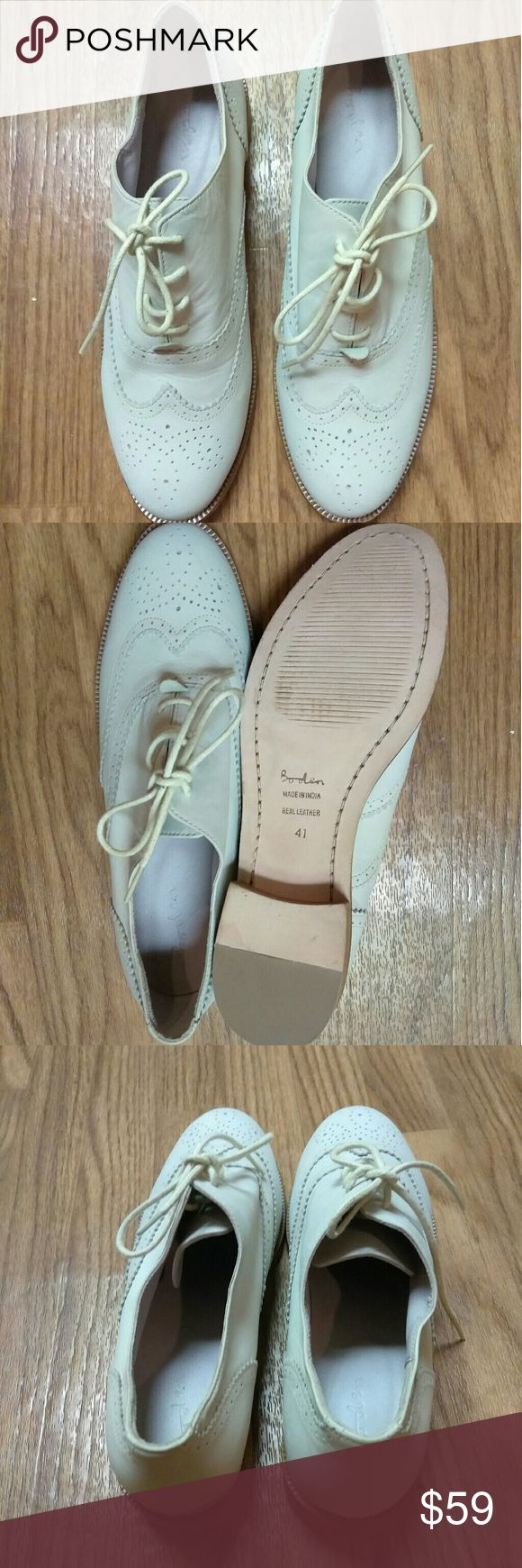 Boden shoes Boden shoes, worn once in excellent condition. Boden Shoes Flats & Loafers