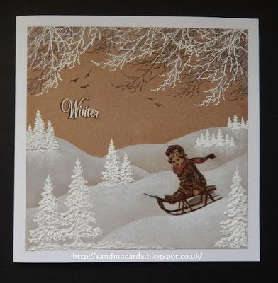 Sandma's Handmade Cards: FSC 'Winter or Spring'