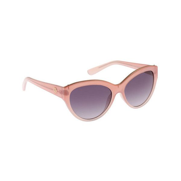 Women's Vince Camuto VC694 Cat Eye Sunglasses ($75) ❤ liked on Polyvore featuring accessories, eyewear, sunglasses, pink, sun protection, sport glasses, cateye sunglasses, plastic glasses, cat eye glasses and pink sunglasses