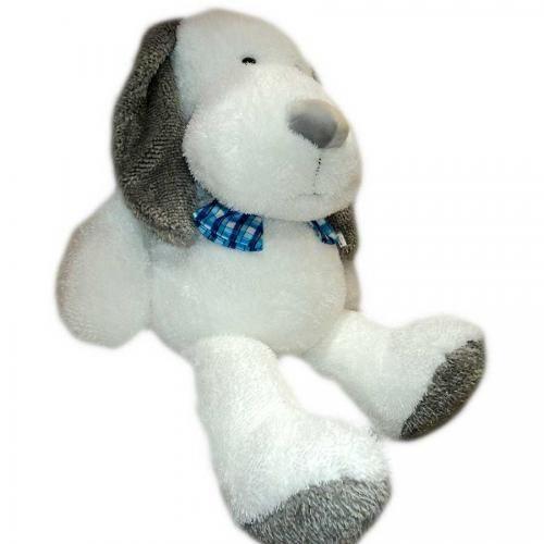 Perro blanco c/.orejas grises imagen 2