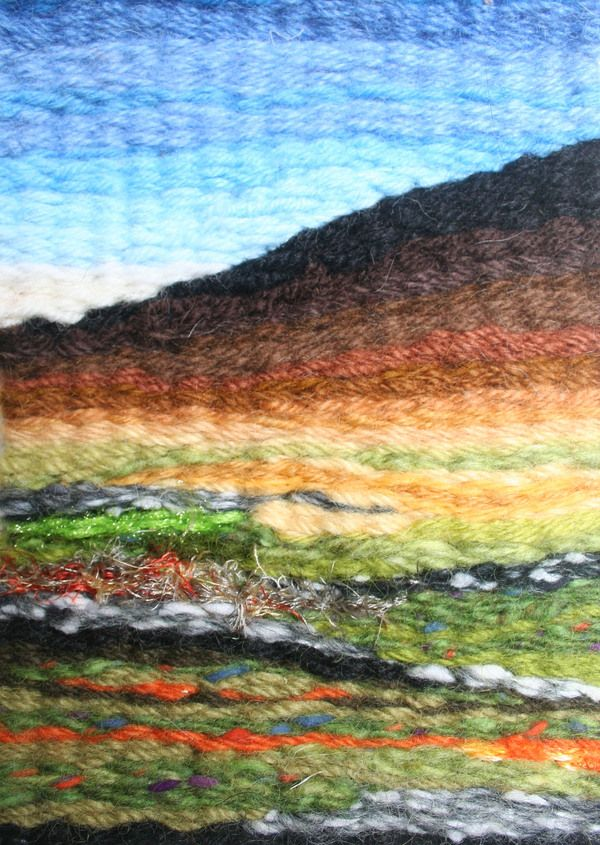 Connemara Landscape Tapestry Weave on Behance