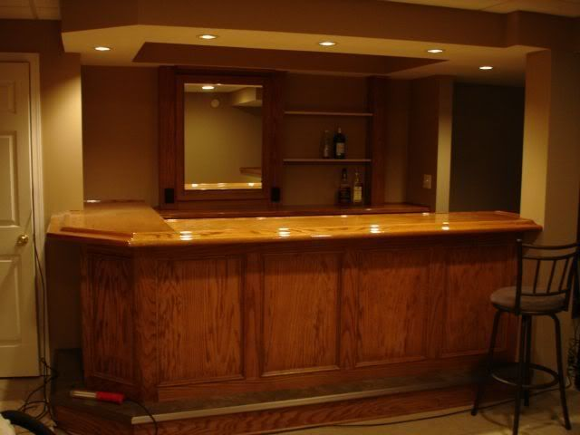 basement+bar+pictures | ... my bar i have to add some more lighting to the back of the bar