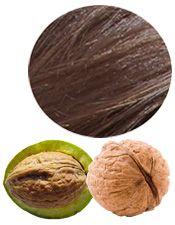 Coloration & Soin capillaire Brou de noix Aroma-Zone