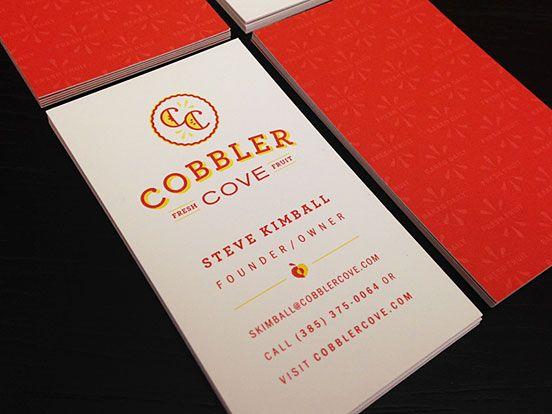 Cobbler Cove Business Cards