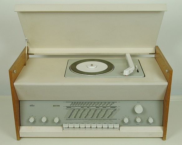 Atelier 2 (RC9) Radio-Phono, Designed by Dieter Rams, 1961