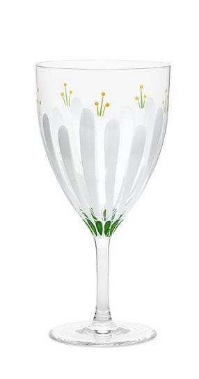 For Mother's Day: Tory Burch Spring Meadow Red Wine Glass