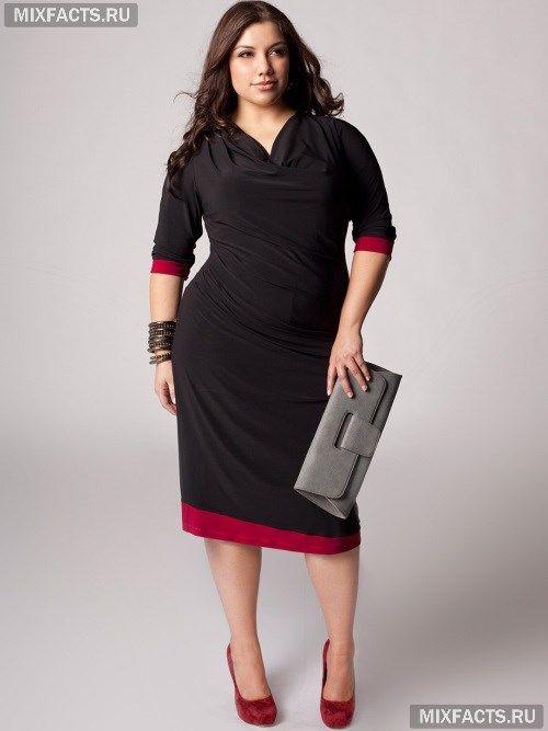 427b6d10 Фасоны платьев для полных женщин с животом   Style in 2019   Фасон ...