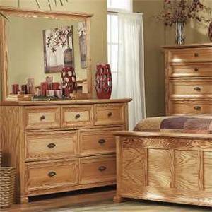 Thornwood Ventura Studio 7 Drawer Dresser and Mirro