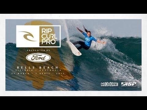 Willdcard Nikki Van Dijk - Rip Curl Pro Bells Beach 2013