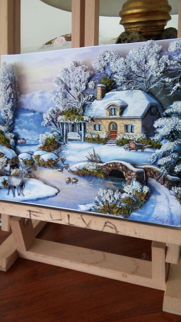 Fulya's winter papertole-SÜMBÜL ELDEK