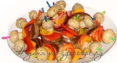 kanape-mushrooms
