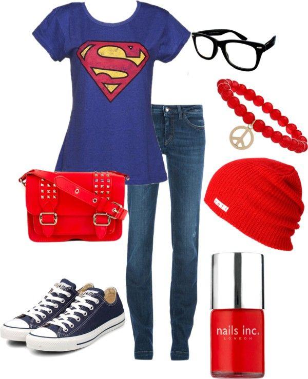 """Superman Set"" by bekahjoy813 on Polyvore @Christina Childress Weaver"