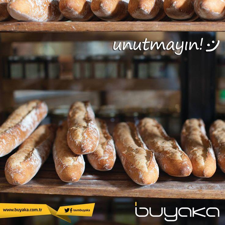 Alışveriş sonrası, iş çıkışı eve dönerken Le Pain Quotidien'den ya da Buuday'dan özel yapılmış ekmeklerinizi almayı unutmayın! :) #BuyakaBiBaşka #Lezzet #Ekmek #LePainQuotidien #BuudayBackhaus #BuyakaAvm