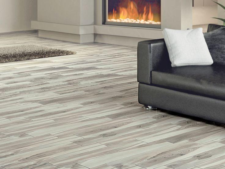 happy floors tigerwood ash 6 x 36 porcelain wood look tile