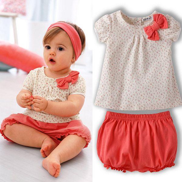 $4.23 (Buy here: https://alitems.com/g/1e8d114494ebda23ff8b16525dc3e8/?i=5&ulp=https%3A%2F%2Fwww.aliexpress.com%2Fitem%2FKids-Baby-Girls-Cherry-Clothes-Set-Dots-T-shirt-Tops-Pants-2Pcs-Outfits-Bow-Cotton-Clothes%2F32578437321.html ) Kids Baby Girls Cherry Clothes Set Dots T-shirt Tops+Pants 2Pcs Outfits Bow Cotton Clothes Set  for just $4.23