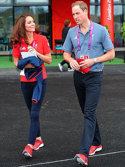 Skinny Jeans and Red Sneakers! All About Will and Kate's Laid-Back Style| The British Royals, The Royals, Kate Middleton, Prince William