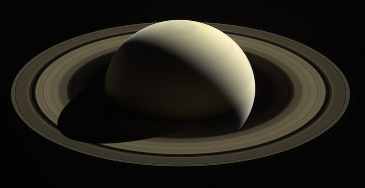 So Far from Home (NASA Cassini Saturn Mission Image)