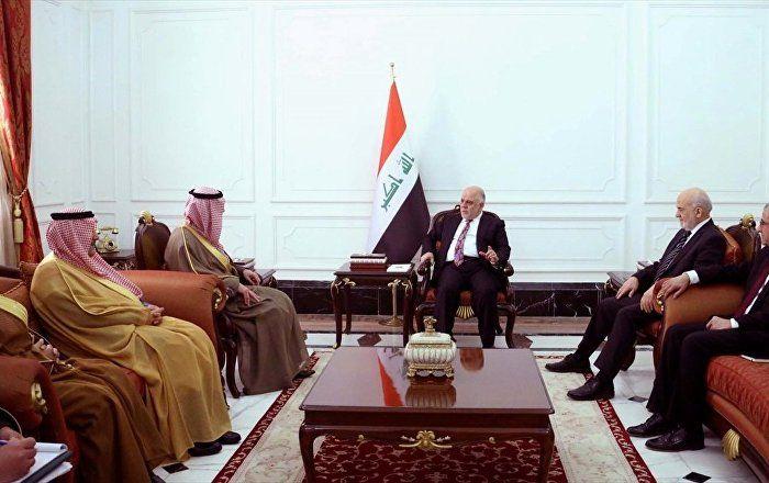 Sputnik Türkiye ///  Suudi Arabistan'dan 14 yıl sonra bir ilk: Dışişleri Bakanı Cubeyr, Bağdat'ta