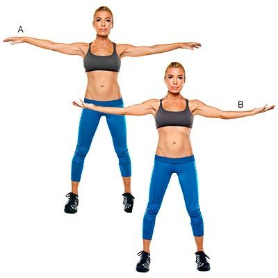 Do this B-ball palm rotation 30 to 40 times for toned arms. #workout #exercise #10minuteworkout | health.com