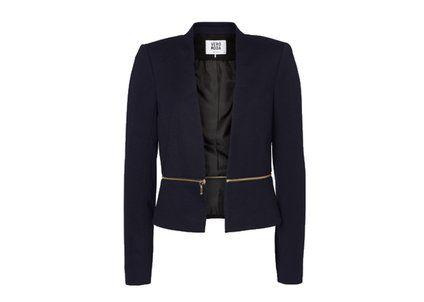 Tmavě modrý blazer se zipem Vero Moda Victoria - 1249,-