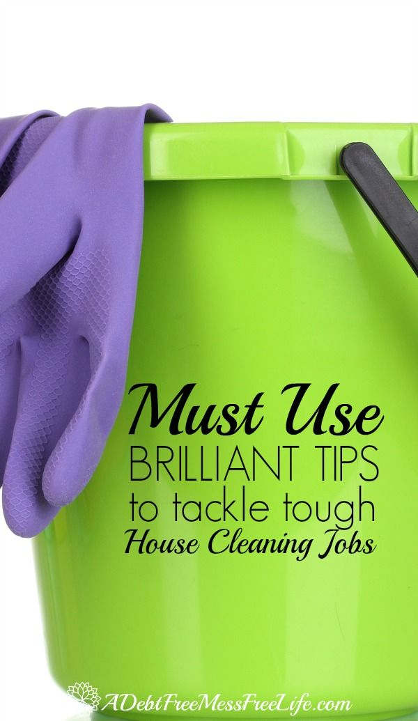 These BRILLIANT cleaning tips will surely help you get your household sparkling CLEAN. They are AMAZING because they help you clean FAST! A must read post if you're tired of cleaning all day!