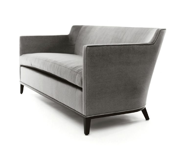 Bright Chair Company Eno High Back Sofa In Living Room