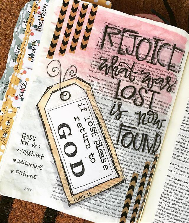 Bible Journaling by Cara Carroll @thefirstgradeparade