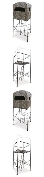 Tree Stands 52508: Deer Stand W Blind 7 Hunting Tree Big Game Ladder Shooting Camo Hunter Quad -> BUY IT NOW ONLY: $398.09 on eBay!  http://www.learnhowtohunt.info/quail-hunting/  https://www.facebook.com/PreppingMeansPrepared/ #deerhuntingblinds